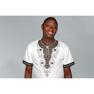Men's Shirt; Casual African Embroidered Shirts