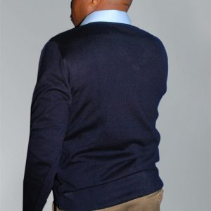 Men's Knit Wear; V-Neck Warm Long Sleeves Sweater