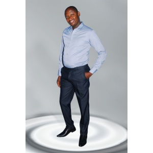 Men's Shirts; Carltommy Plain Slim-Fit Business Shirts.