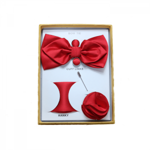 4 Piece Set Bow Tie