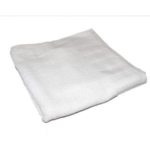 Plain White Towels.