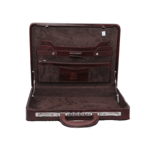 ITALIAN Briefcase brown