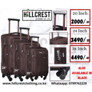 Travel Suitcase; Oxford 4-wheel 360 Degree suitcase